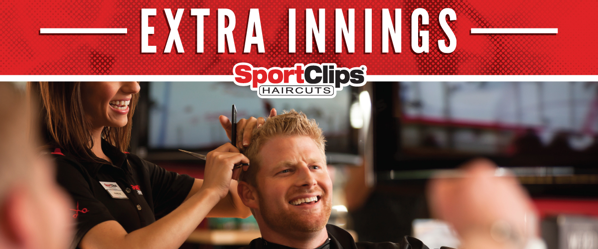 The Sport Clips Haircuts of Palm Desert  Extra Innings Offerings